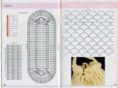 Tejido Facil: Paso a paso: Bolso clásico al crochet super fácil con patrones!