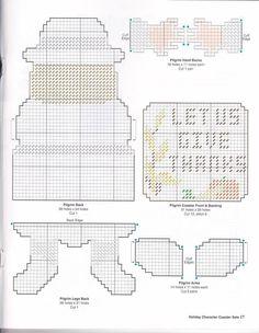 Pilgrim Coaster Set