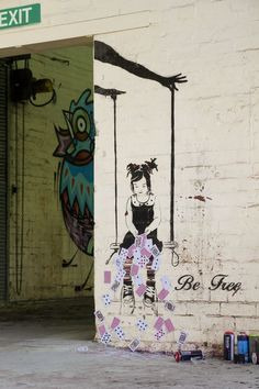 Vandalog – A Street Art Blog » Interview with Be Free