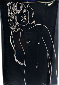 Mick Jagger Nude Portrait by Andy Warhol