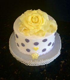 Rose themed Cake