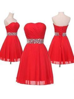 A-Line Homecoming Dress,Sweetheart Homecoming Dress,Beading Homecoming Dress,Short Prom Dress