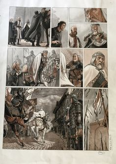 Servitude T3 - P9 by Eric Bourgier, Fabrice David - Comic Strip