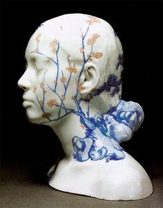 china china sculptures by ah xian