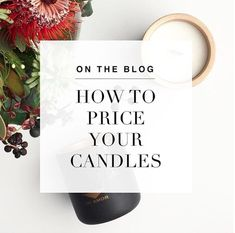 You've decided to take the leap and be a candle-maker: congratulations! Welcome to the family! But how should I price my candles? Now you have two critical questions in front of you: How should I price my candles? Can I make a profit? Tips And Tricks, Aromatherapy Candles, Beeswax Candles, Unique Candles, Diy Candles, Candle Shop, Candle Maker, Prices Candles, Soy Candle Making