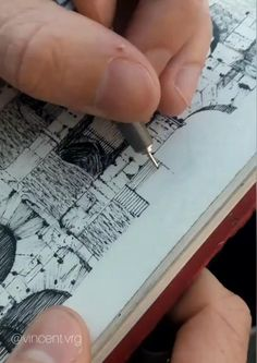 Cityscape Drawing, Painting & Drawing, Drawing Tutorials, Art Tutorials, Artist Journal, Sketch Journal, Pen Art, Art Drawings Sketches, Pencil Drawings