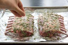 Lamb Rib Roast Recipe, Roasted Rack Of Lamb Recipe, Lamb Cutlets Recipe, Lamb Rack Recipe, Roasted Lamb Chops, Roast Rack Of Lamb, Cutlets Recipes, Lamb Recipes Oven, Rib Recipes
