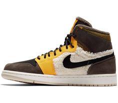 watch c04e4 df192 Jordan - Air 1 Retro High Premium Utility dames sneakers (bruin)