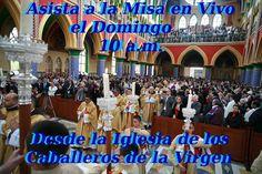 Asista a la Misa en directo con los Caballeros de la Virgen mañana a las 10 a.m. Haga clic aquí: https://www.youtube.com/watch?v=QMHtXk-dDfw