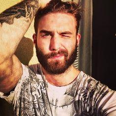 meow beard man.