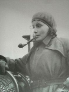 """""""I've been smoking since I was a small boy."""" Greta Garbo"""