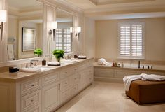 Bathroom sconce lighting: Pacific Heights Sconce by Boyd Lighting. Interior design by Jan Turner Hering