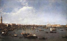 Le Bassin de San Marco vers l'Est