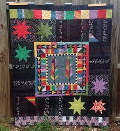 remember your karma: November quilt finish