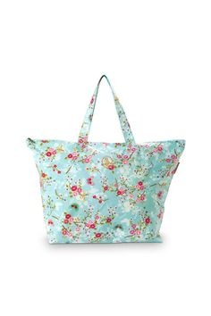 Picture of Pip Classic Beach Bag Chinese Blossom Blue