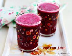 Beetroot juice - http://www.jeyashriskitchen.com/2015/03/beetroot-juice-recipe-easy-summer-drinks.html