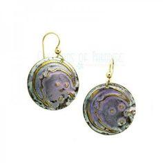 Gold Moon Dance Earrings