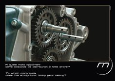 To which #motorcycle this straight-cut timing gear belong? #Midual #Type1 #Midualofficial #unique #luxury #engine