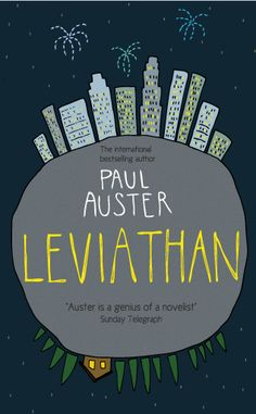 Paul Auster, Leviathan - http://annaheath.co.uk