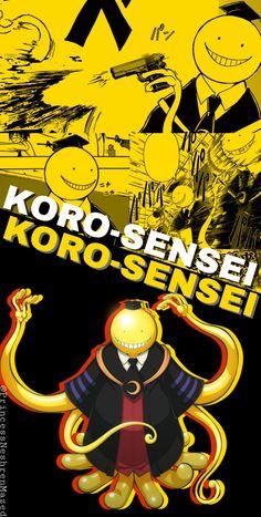 Assassination classroom (Koro-Sensei wallpaper)