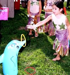 Little Mermaid Birthday Party Games  ,Little Mermaid Birthday Party Ideas