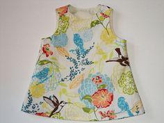 Baby Dress  Toddler Dress Girls DressCotton Made by AuntBsBonnets, $28.00