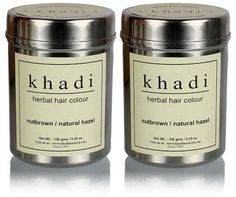 Khadi Herbal Nut Brown Henna- Natural Hazel - 150 ml (Pack of 2) *** Read more at the image link. #hairdressing