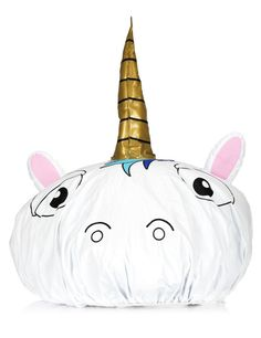 Unicorn shower cap!!!!! Perfect gift idea!Hey, I found this really awesome Etsy listing at https://www.etsy.com/listing/385517068/unicorn-shower-cap