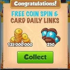 coin master free spins get 100 free spins every day! You Can Get Coin Master Reward Here. Check this page to get coin master free spin.