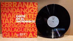 ANTONIO PEÑA Y CHIQUITO DE LORCA. CANTE EN EL SACROMONTE. LP / DIRESA / MBC. ***/***