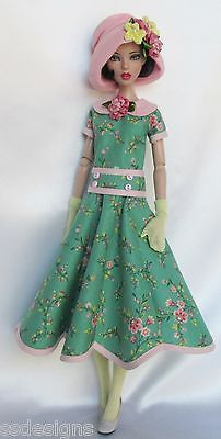 "Emma Jean's Secret Garden 1920s for 16"" Tonner Deja Vu Made by Ssdesigns 