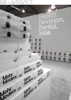 MM-Booth Design, Mohr Models Fashion Week, Berlin (2011)
