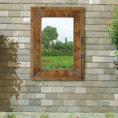 Windowpane Wall Mirror
