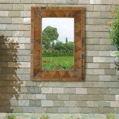 Windowpane Wall Mirror