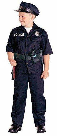 cop costume for kid boys - Google Search
