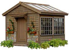 23 super Ideas for garden shed plans diy greenhouse ideas Outdoor Greenhouse, Greenhouse Shed, Garden Gazebo, Small Greenhouse, Garden Sheds, Small Buildings, Garden Buildings, Shed Building Plans, Shed Plans