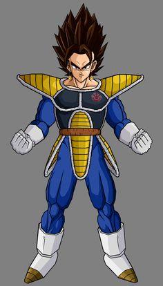 Vegetto Saiyan Armor
