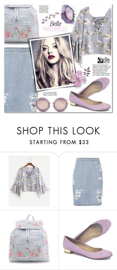 """""""shein"""" by pankh ❤ liked on Polyvore featuring IRO, New Look, J.Crew and Miu Miu"""