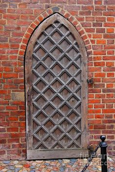 Cathedral Door in Gdansk, Poland
