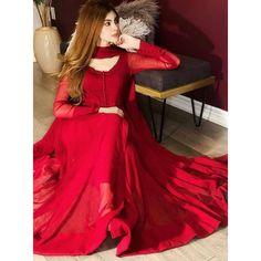 Simple Pakistani Dresses, Indian Gowns Dresses, Indian Fashion Dresses, Pakistani Dress Design, Indian Designer Outfits, Dress Indian Style, Simple Anarkali Suits, Fancy Dress Design, Stylish Dress Designs