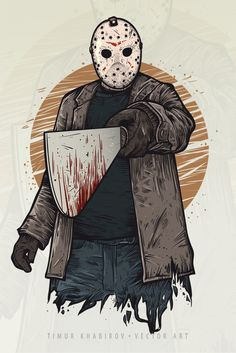 Viernes 13 posters de muerte viernes 13 friday the for Friday the 13th tattoos michigan