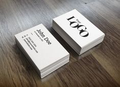 Realistic Business Card PSD MockUp