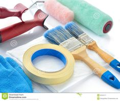 Tools for Masking Tape Painting