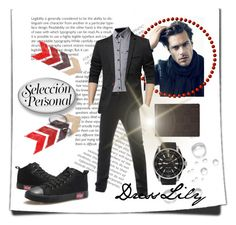 """""""DressLily #55"""" by selmazbanic ❤ liked on Polyvore featuring Gucci, men's fashion and menswear"""