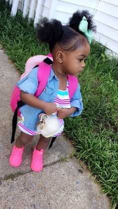 Wow check out these cute kids clothing Cute Black Babies, Beautiful Black Babies, Cute Baby Girl, Cute Little Girls, Beautiful Children, Cute Babies, Brown Babies, Mixed Babies, Cute Kids Fashion