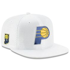 sneakers for cheap 5390d 1964c Men s Indiana Pacers New Era White 2017 Official On-Court Collection 9FIFTY  Snapback Hat. Classic HatsNba DraftSnapback ...