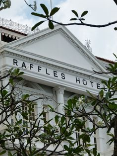 "It has been renovated since Kipling wrote,""Raffles Hotel...where the food is as excellent as the rooms are bad."""