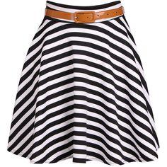 Striped Mini Skirt (505 RUB) ❤ liked on Polyvore featuring skirts, mini skirts, bottoms, saias, faldas, stripes, black white striped skirt, black and white mini skirt, black and white striped skirt and short skirts