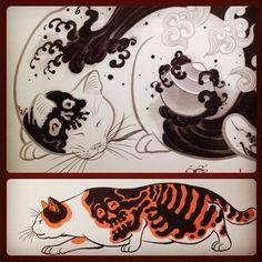 Tattoo ☠ Horitomo : https://instagram.com/horitomo_stateofgrace/