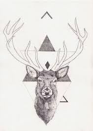 Best Geometric Tattoo - Resultado de imagen de geometric deer tattoo...
